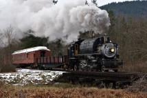 Crossett Western steaming