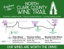 WINE TRAIL MAP ONLY